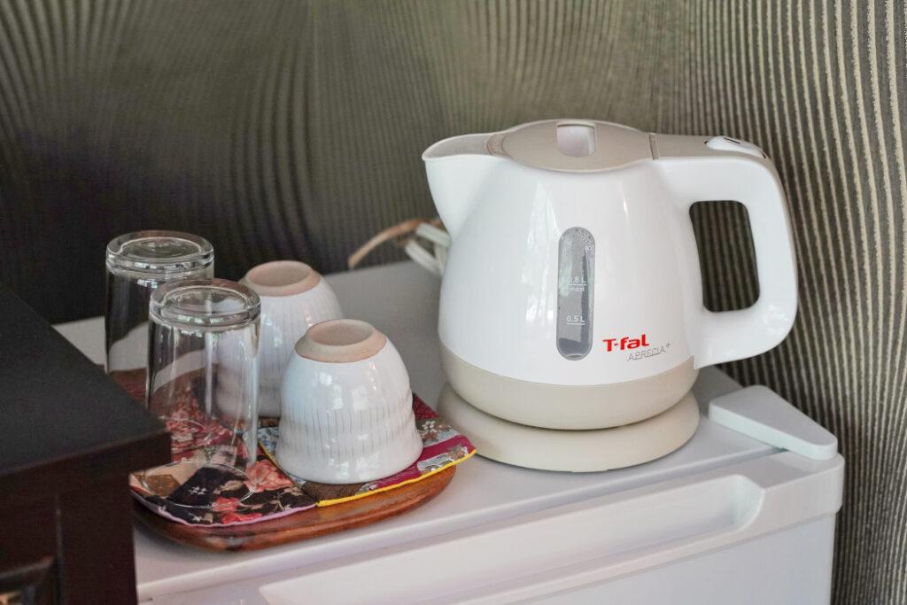 湯沸かし器・茶器セット