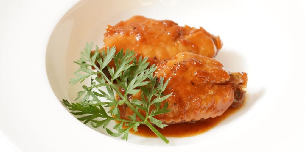 薩摩鶏のポンカンマーマレード煮