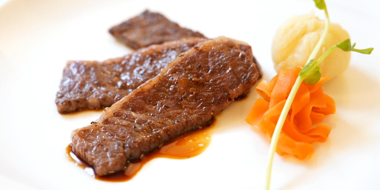 鹿児島黒毛和牛ハラミのソテー