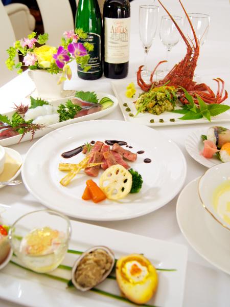 雫ノ杜ウエディング会食・お料理